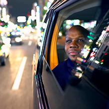Donovan Bailey in Tokyo